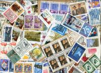 BELGIUM: Large & Commemoratives mostly Franc Values on clipped and torn single paper. A few Semi-Postals and Higher Value  seen. Approx 110 stamps/oz.   Received  JAN 2021
