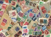 GERMANY. Older stamps before the BRD was formed. On and OFF paper. Lots of postally used stamps from an old horde in Europe. Received  JAN 2021