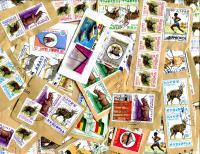 ETHIOPIA: good variety; MANY COMMEMORATIVES some better values to 3 Birr seen. APPROX. # OF STAMPS PER OZ=90  RECEIVED DEC 2016  **SOLD OUT**