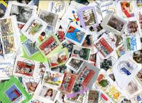 NETHERLANDS. All Commemoratives & Semi-Postals - EURO values only Some heavier and double paper, but mostly closely clipped single paper.  ≈ 80  STAMPS/OZ   RECEIVED: JAN 2019