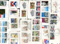 NETHERLANDS. FDC clips, only Commemoratives, Semis, S/S, etc. Only Guilder issues. Good variety, about 50 stamps per oz. High Catalogue value. RECEIVED: FEB 2021
