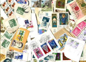 ISRAEL. 50% commemorativess, 50% pictorials and small. Nice variety. Some w/Tabs. Received AUG 2019