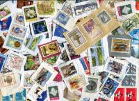 LUXEMBOURG: Mostly Large and Commemoratives, old and newer issues. Values to 60F and 4,00 Euros seen. ≈ 110 STAMPS/OZ  Received MAR 2020