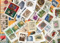 AUSTRIA: Schilling commemoratives & semis. Many round cancels & good variety to 7S. Some S/S seen. Clean mix. Received OCT 2018.