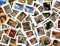 AUSTRIA: Only Euro value Christmas stamps Good variety of issues through 2015.  Received OCT 2019