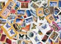UNITED STATES: Only High Values (for the time period)and Airmails. On and Off paper. Very Scarce! New supplies in frequently, but it just dribbles in!  ≈ 110 STAMPS/OZ. Received  MAR 2020