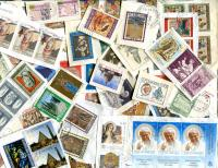 VATICAN CITY. From a Catholic Charity in South Africa, A collection from many years in the 20th Century. All appear postally used, many blocks. ≈ 100  STAMPS/OZ. Received DEC 2019 **SOLD OUT**