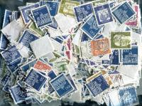 GERMANY:Germany only OLDER Higher Value Definitives.  OFF PAPER ≈ 300  STAMPS/OZ.  Received JAN 2020