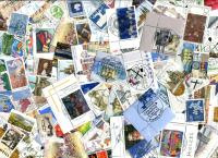 GERMANY. High Value commemoratives with Round Cancels. Good variety, with BIG catalogue value! OFF PAPER! ≈ 250  STAMPS/OZ. Received JAN 2020