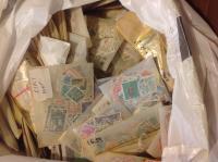WORLD: OFF PAPER!  In envelopes & bundles as received.