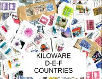 """D-E-F"" Countries title page."