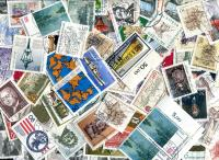 GERMANY (BERLIN). Only Commemoratives; with ROUND CANCELS!. A scarce mixture. OFF PAPER! About 250 stamps per oz. Received JAN 2020