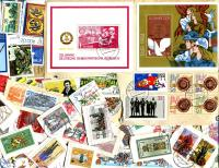 DDR: East Germany Commemoratives only. On paper and off paper with some S/S and MINT! Received JAN 2021