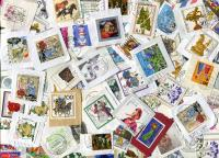 GERMANY. Only Semi-Postals with High Values. Mostly ROUND cancels, good variety.  Some FDC clips with complete sets!Approximately 90 stamps per ounce. Received MAR 2021