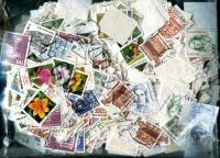 GERMANY:Germany only Higher Value Definitives. OFF PAPER Approximately 400 stamps per ounce Received JAN 2020