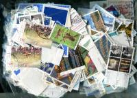 GERMANY. Higher Value Commemoratives only. Good variety, OFF PAPER About 250 stamps per ounce. Received JAN 2020